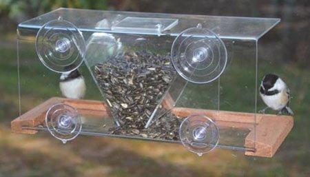 Songbird Essentials Window Feeder 8